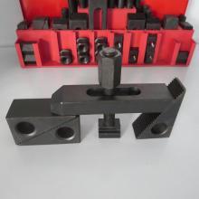 58pcs Deluxe Steel Clamping Kit com porcas de flange