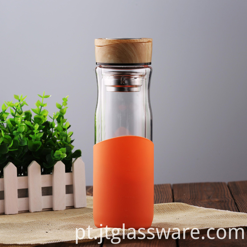 High Quality Cheap Glass Water Bottle