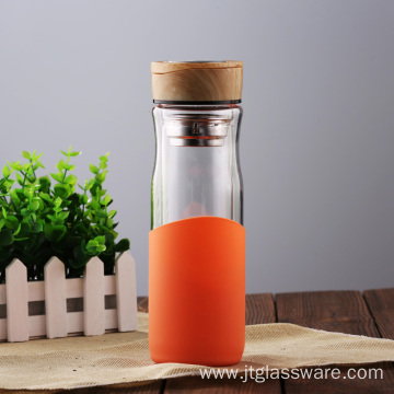 High Quality Cheap Glass Infusion Water Bottle