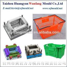 plastic injection market dedicated shopping basket mould