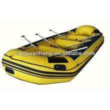 preço de barco transportando inflável de PVC