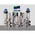 Válvula de reversión higiénica de acero inoxidable (IFEC-HV100002)