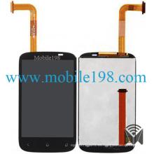 Pantalla LCD con pantalla táctil digitalizador para HTC Desire C A320e