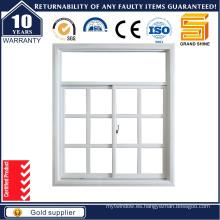 Vidrio templado de doble vidrio térmico Ventana corredera de aluminio