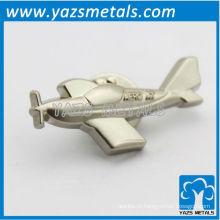 Ofício personalizado em metal do plano aéreo 3D