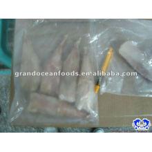 Meeresfrüchte gefrorene Fische Seeteufel Schwanz IQF