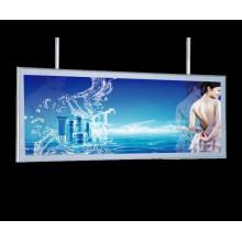 Exterior ilumina la caja de luz delgada publicidad LED