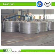 9,5 mm Aluminium Anschluss elektrischer Draht mit unteren Preis