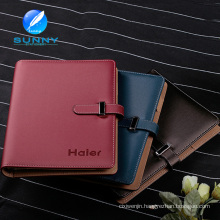 Leather Diary Notebook with Classic Design (XL-21007)