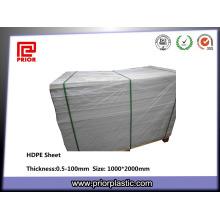 Gute Oberflächenglätte Extruded PE HDPE Blatt