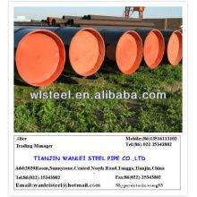 ASTM A53 GR.B hs code en acier au carbone tuyau