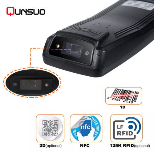 Perindustrian Android 1D 2D barcode scanner PDA