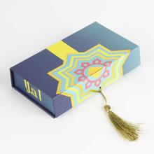 Boîte de rangement en forme de livre en carton personnalisé belle