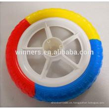 Rueda de bicicleta plástica ligera del neumático de la espuma de EVA 12x1.75