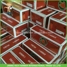 China New Crop Fresh Carrot to Kuwait Market