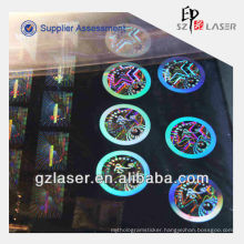 Hologram custom nickel shim plate for embossing sticker