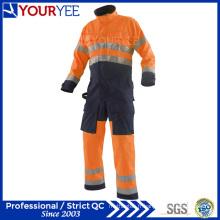 Vêtements de survêtement anti-incendie populaires Hi Vis Coverall à manches longues (YLT121)