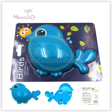 Badezimmerzubehör Kinder Tier Zahnbürstenhalter mit Saugnapf (vogelförmig)