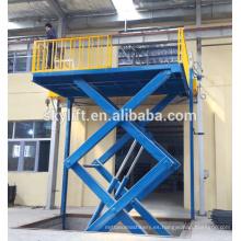 Elevador de ascensores hidráulico estacionario