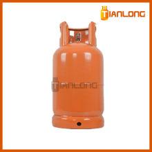 Cilindro de gás lpg usado comprimido