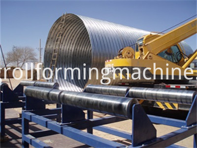 Culvert Pipe Corrugated Panel Roll Forming Machines