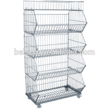 Durable wire mesh containers/ wire mesh stainless steel /welded wire mesh panel