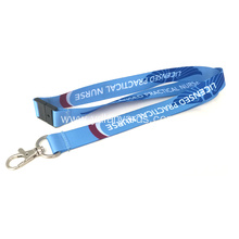 Custom Giveaway Festival Lanyard with Metal Hook