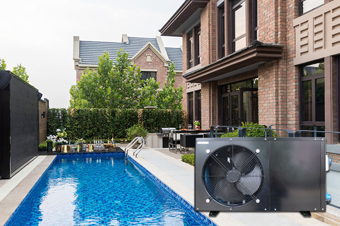 New Air Source Pool Heater