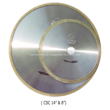 Lâmina de cerâmica de diamante (ranhura em J / aro contínuo)