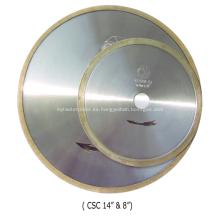 Hoja de cerámica de diamante (ranura en J / borde continuo)