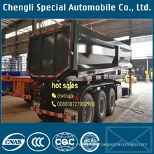 20m3 to 40m3 U Type Dump Semi Trailer