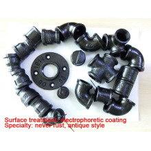 Japan ring brands black malleable iron pipe fittings