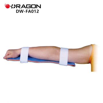 DW-FA012 fracture médicale attelle moulable rouge