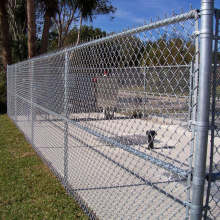 كما سميت Diamond Fence بـ Chain Link Fence
