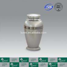 Urna de las cenizas de cremación LUXES urnas Metal barato para la venta