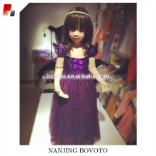 Wholesale purple easter dresses for toddlers