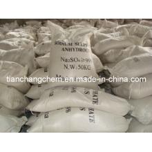 Sulfate de sodium anhydre (SSA) avec 99% de pureté