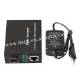 волокна к RJ45 конвертер SFP медиаконвертер 10/100/1000 разъем SC