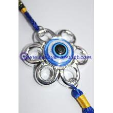 Flower shaped pendant evil eye car decoration wholesale