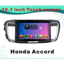 Reproductor de DVD del sistema del androide para Honda Accord 10.1 pulgadas con la navegación del GPS