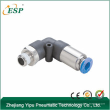China ESP brass pneumatic elbow stop fittings