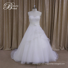 Empire-Taille Liebsten Satinwedding Dress