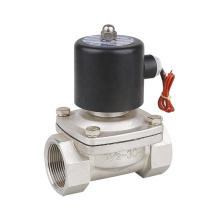 Stainless Steel 2WB-40 Diaphragm Type Electric Water Fluid Solenoid Valve