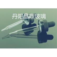 Qualitativ hochwertige Kegel geformt Mini Klarglas Tube