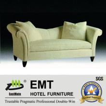 Canapé en tissu de qualité supérieure Ensemble de canapé d'hôtel populaire (EMT-SF42)