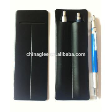 Pochette de stylo en cuir d'unité centrale