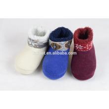 high quality modern design winter slippers kids snow boots