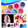 Thermochromic pigment powder for nail polish cosmetic change color with temperature changing