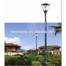 3m ~ 4.5m à bas prix solaire LED jardin lumière paysage à yangzhou