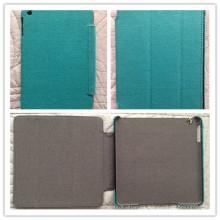 Caja de la PC de la tableta de la lona del cáñamo para el iPad Mini / caso del aire (C-002)